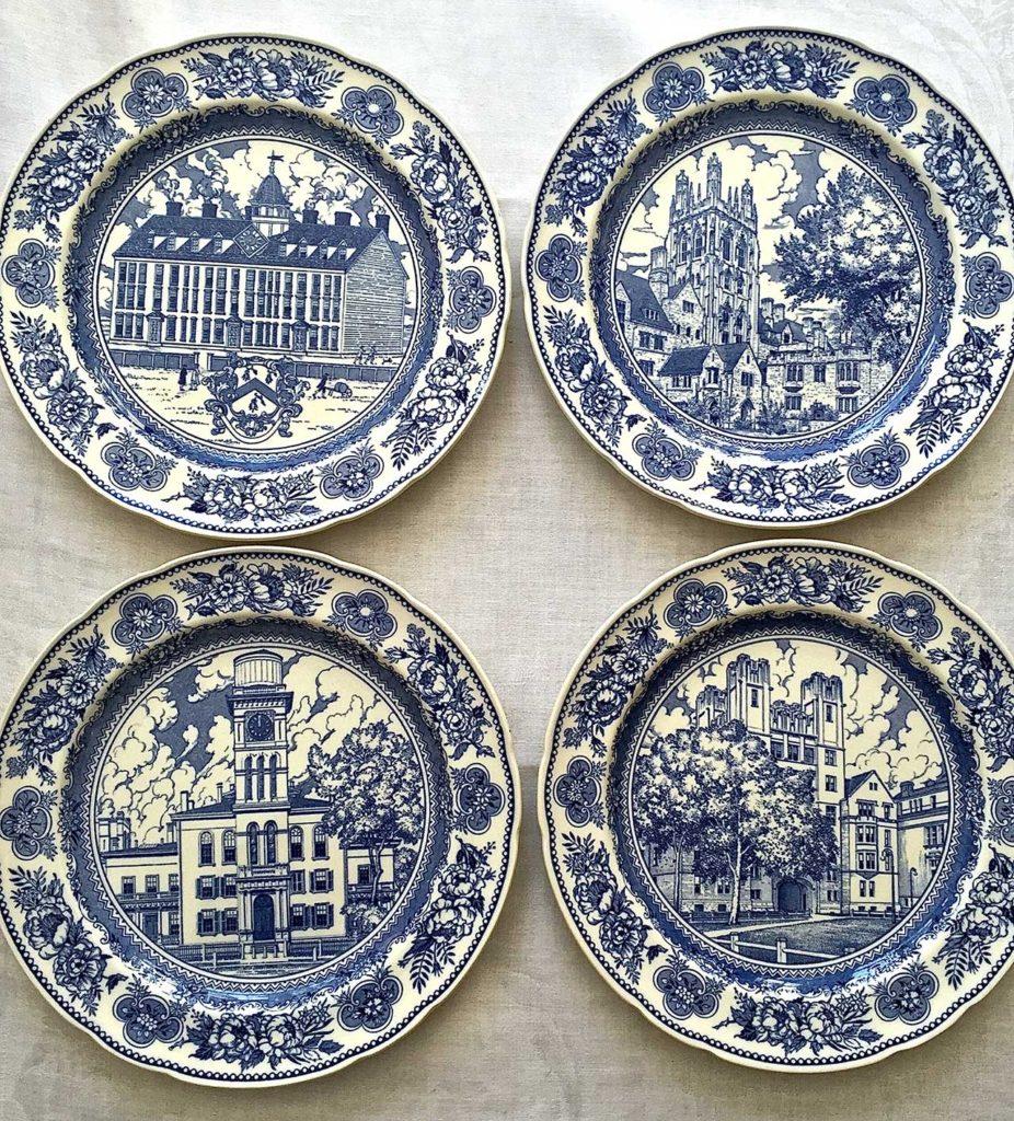 Antique Wedgwood for Yale University Plates, 1931