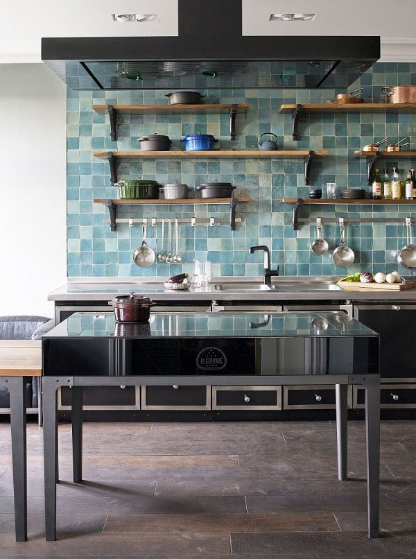 LaCornueKitchen_kitchen-remodeling-with-trendy-kitchen-and-modern-kitchen-and-contemporary-kitchen-brick-floor-cooker-hoob-freestanding-stove-open-shelves-wall-mounted-600x806
