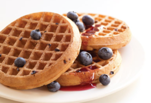 The Van's waffles are the next best thing to homemade!