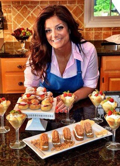 Kathy Wakile in her Wayne, NJ kitchen