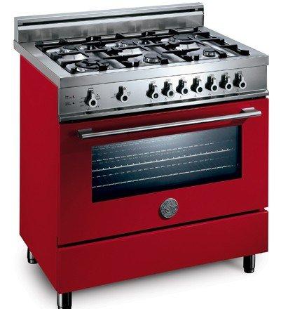 Red Range Oven