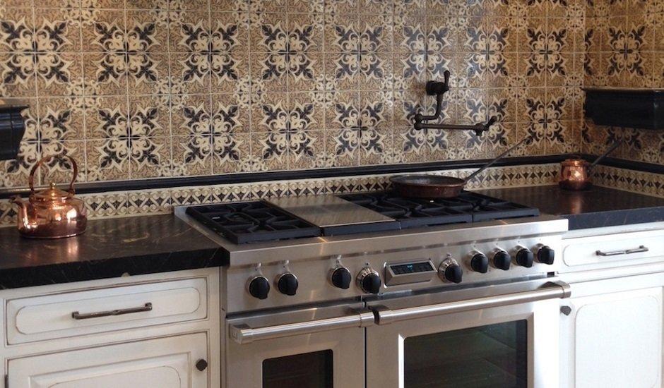 KJ Patterson patterned tiles