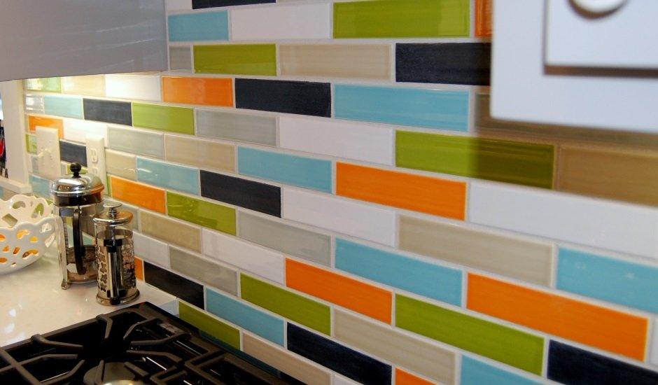 Clayhaus Tiles - multi color subway tiles