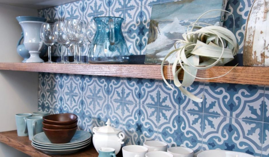 Sabine Hill Tiles in a kitchen, image courtesy of HGTV