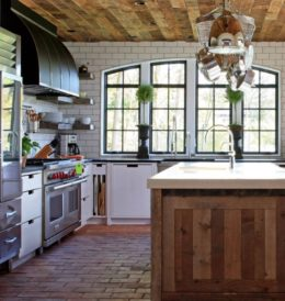 Cottage Kitchen by Burns & Beryerl Architects with a Traulsen Refrigerator