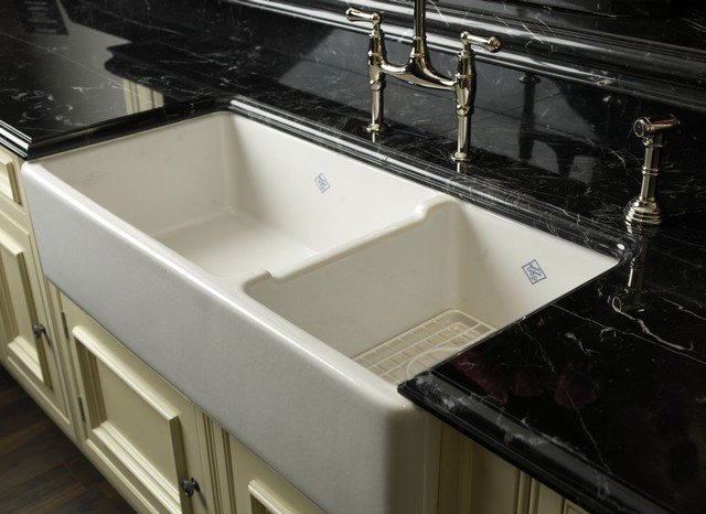 rohl faucets and shaw sinks double wide sink