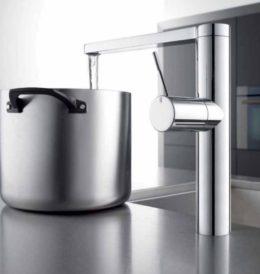 KWC Faucets modern high set faucet