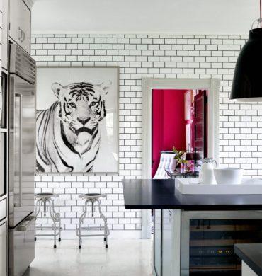 7 easy ways to add art in the kitchen